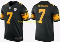 New BEN ROETHLISBERGER Pittsburgh STEELERS Nike COLOR RUSH Legends JERSEY S-XXL