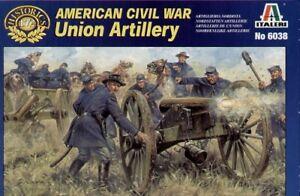 Italeri 1/72 Union Artillery American Civil War # 6038