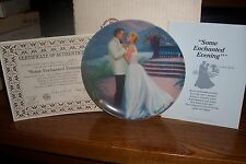 """South Pacific Collectors Plate - 1987 - """"Some Enchanted Evening"""""""