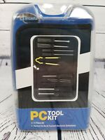 I Concepts Computer PC 11 Piece Tool Kit W/ Case NEW Old Stock 2003 NIB
