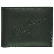 Alpinestars Ageless - Classic Leather Bi-Fold Wallets For Men - Military Green