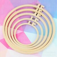 Plastic Frame Cross Stitch Hoop Ring Embroidery Sewing Craft Accessory DIY