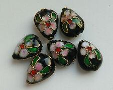 6 dell'era Maji Perline, Nero/Rosa/Verde. a GOCCIA 12 mm gioielli