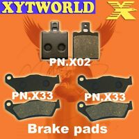Front Rear Brake Pads for DUCATI 695 Monster 2007-2008