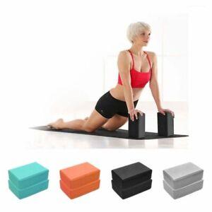 EVA Gym Blocks Foam Brick Training Exercise Fitness Set Tool Yoga Bolster Pillow