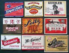 Pennsylvania Breweries antique Beer Bottle Labels  Lot of 25