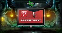 SOCIAL WEB MARKETING • Servizio pubblicità • PINTEREST
