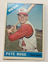 1966 Topps Pete Rose Cincinnati Reds #30 Baseball Card