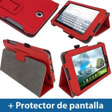 Carcasas, cubiertas y fundas rojo para tablets e eBooks ASUS