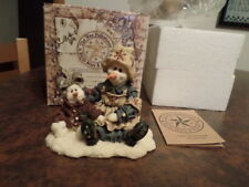 """Boyds Folkstone """"Florence And Katerina.Cold Comfort """" In. Issue Fall 1998 Nib"""