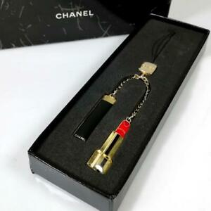 CHANEL Cell phone strap CHARM COCO VIP GIFT Novelty Accessory Limited