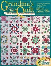 Grandma's Last Quilt   Quilt Pattern Booklet   25 Applique Patterns