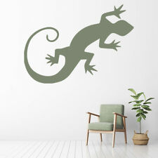 Gecko Lizard Wall Decal Sticker WS-32734