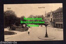 118150 AK Wesel 1917 Kaiser Platz Geschäft Flügel Pianos Gerhard Adam