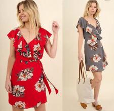 Vestiti da donna a portafoglio floreale  a8dd69f7517