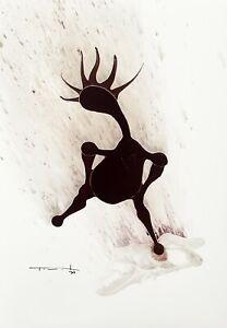 Jose Tonito Original art painting.Realistic Organic Expressionism.PUDDLE.Figure