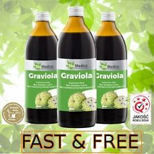 Health Pure Graviola Juice 100% Sugar Free No Water Added Sok z Gravioli
