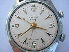 POLJOT SIGNAL ALARM&VIBRO SOVIET RUSSIAN USSR Watch 18 Jewels