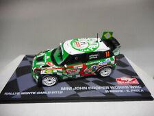 MINI JOHN COOPER WORKS WRC RALLY MONTE CARLO 2012 NOBRE EAGLEMOSS IXO 1:43