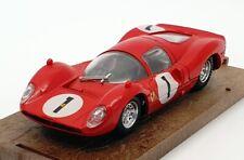 Brumm 1/43 Scale Model Car R157 - Ferrari 330 - P3 - #1 1966