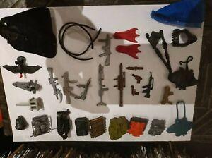 Hasbro  Vintage G.I. Joe action force Huge Job Lot Weapons/spares/figures Parts