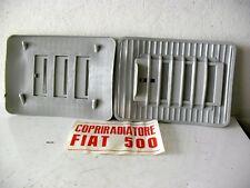 COPRIRADIATORE FIAT 500 MARCA LAMPA COLORE GRIGIO CHIARO CODICE  1500