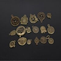 Metal Mixed Charms Pendant Mixed Clock Pendant Steampunk Clock Jewelry Making