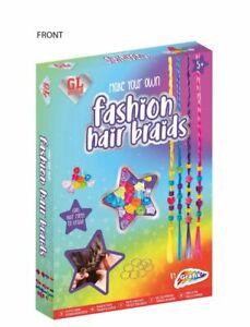 Grafix Make Your Own Fashion Hair Braids -  Creative - Children's - New