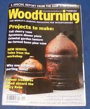 WOODTURNING  SEPTEMBER 2012 - WHY USE DIFFERENT PARTING TOOLS