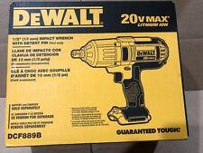"Dewalt DCF889B 1/2"" 20 Volt 20V Max High Torque Impact Wrench Brand New Sealed"