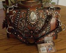 Montana West Embroidery Cutout Design Spiritual Collection Handbag