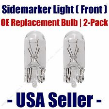 Sidemarker (Front) Light Bulb 2pk - Fits Listed Plymouth Vehicles -  168