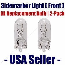Sidemarker (Front) Light Bulb 2pk - Fits Listed Ford Vehicles  168