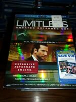LIMITLESS - BLU-RAY + DIGITAL COPY - WATCHED ONCE!!