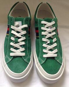 Paul Smith Antilla Green Suede Sneaker. Size 7 UK