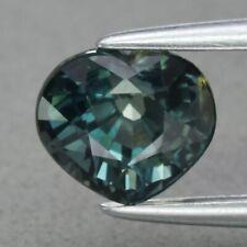 1.53ct 6.5x5.7mm VS Heart Natural Unheated Greenish Blue Sapphire, Australia