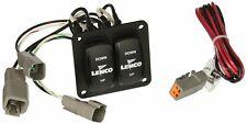 Lenco 10222-211D Trim Tab Switch Kit, Double Rocker (10222211d)