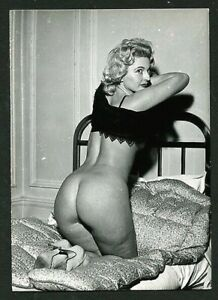French 1960s Gorgeous NUDE 3 Photos Parisian THICK Thighs DERRIERE VASTA Archive