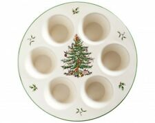 Spode Christmas Tree Muffin Cupcake Tray - NEW UNUSED BOXED
