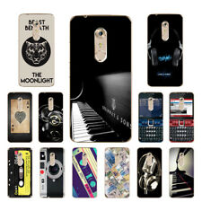 Soft TPU Silicone Case For ZTE Axon 7 Protective Phone Back Covers Skins Music