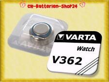 2 x Varta V362 SR721SW SR721 SR58 AG11 Knopfzellen Silberoxid Uhren Batterien