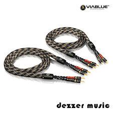 ViaBlue 2x 3,00m SC-4 Single Wire T6s Banana HIGH END Lautsprecherkabel/ 3...TOP