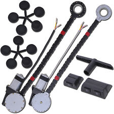 Universal 2 Door Electric Car Truck Power Window Conversion Kit Roll Up Switches