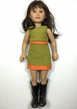"Karito Kids Give 2006 Gia Doll 21"" With Dress And Boots"
