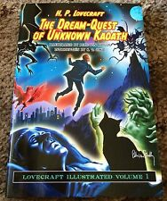 THE DREAM-QUEST OF UNKNOWN KADATH H.P.Lovecraft 1st ed thus LIMITED UK IMPORT
