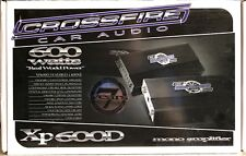 NEW Old School Crossfire XP600D 1 Channel Class D amplifier,Rare,monoblock