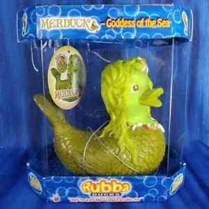 Merduck Mermaid Rubba Duck Rubber Duck Sea Ocean Summer Vacation NIB NEW!