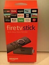 Fire TV Stick - BRAND NEW in SEALED box with ALEXA Voice Remote - from 2017