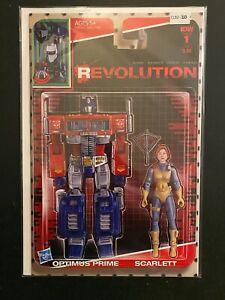 Revolution 1 Variant High Grade IDW Comic Book CL92-333