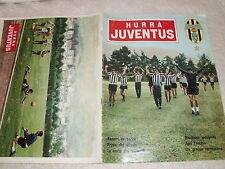 JUVENTUS F.C. RIVISTA UFFICIALE CALCIO TIFOSI ULTRAS  HURRA' JUVENTUS N° 8  1966
